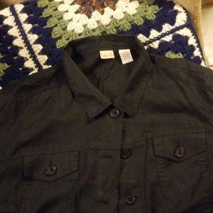 Gentle used linen jacket